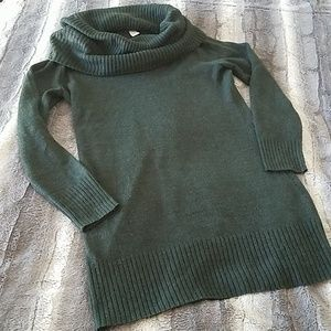 H&M Cowl neck tunic sweater